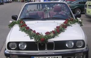 Auto Hochzeit Spieglhof